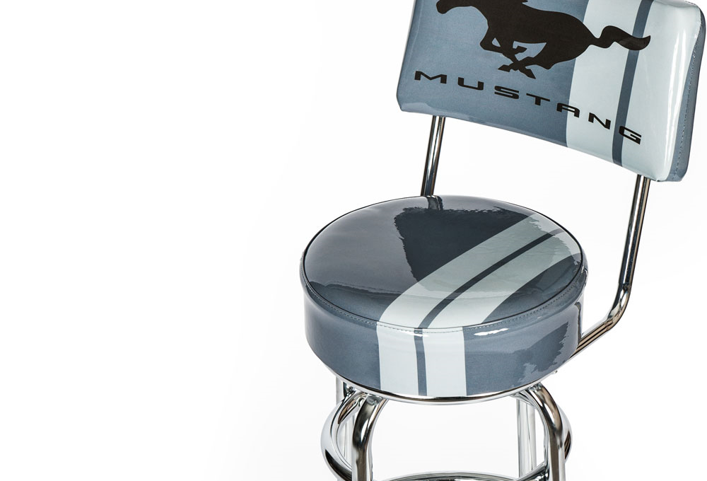 Ford Mustang Counter Stool