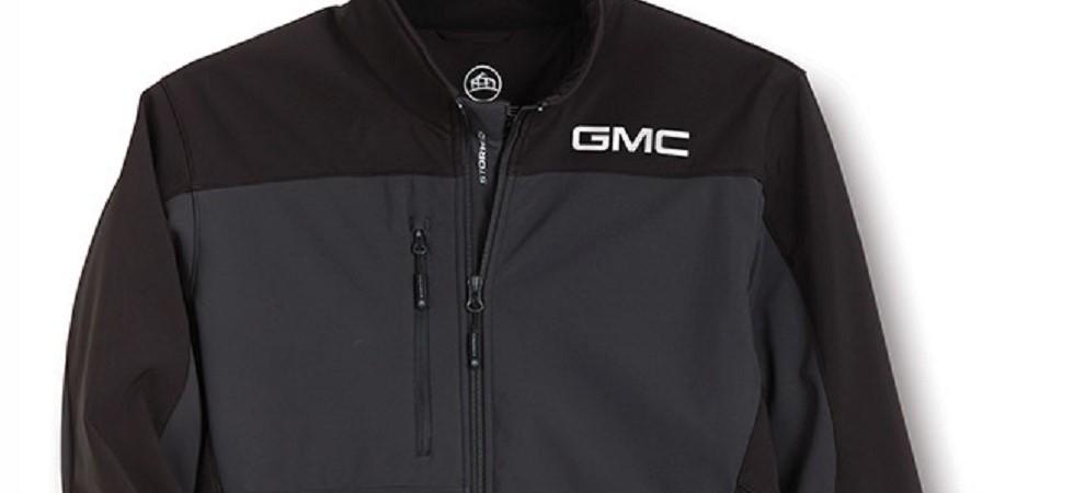 GMC Gray and Black Jacket