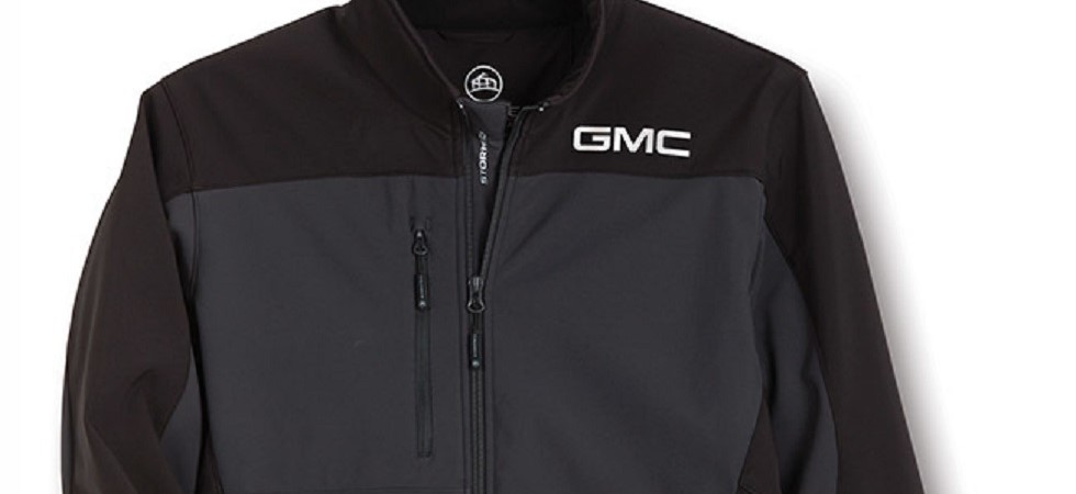 GMC Gray and Black Jacket