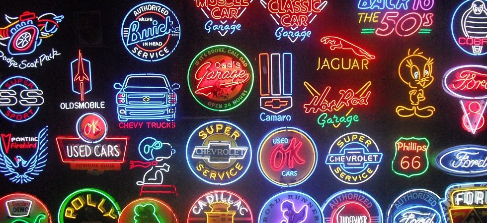 Automotive Neon Signs