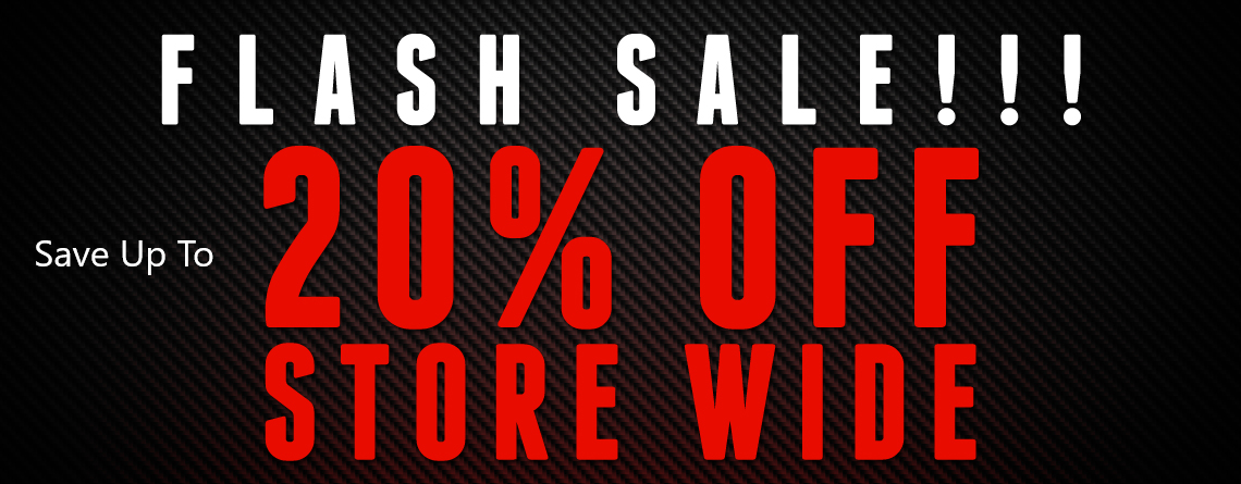 Flash Sale. Save Up To 20% Storwide