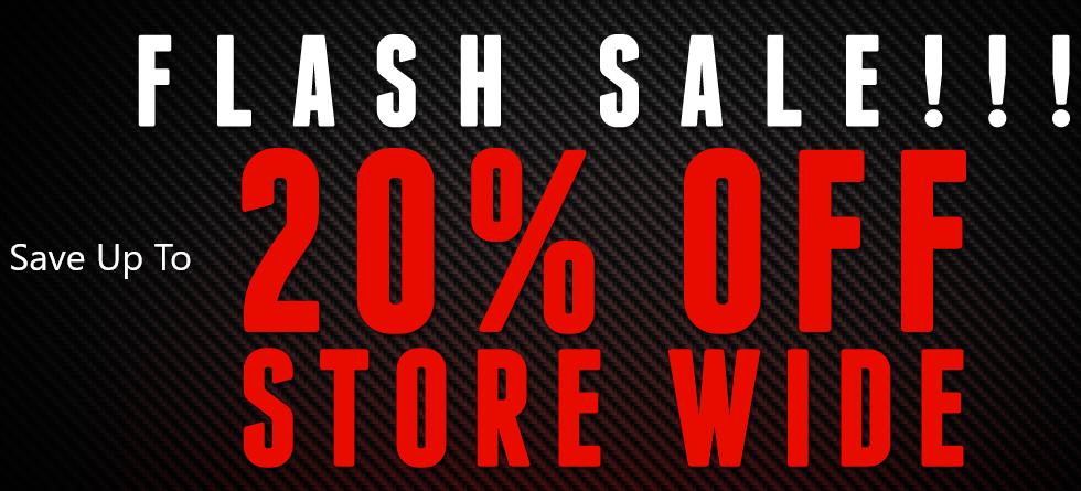 Flash Sale - 20% Off Storewide!