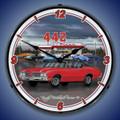Oldsmobile 442 Backlit Clock