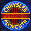 Chrysler Plymouth Neon Sign