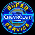 Chevy Neon Sign
