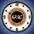 GMC Trucks Clock