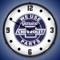 Chevrolet Backlit Clock