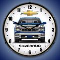 Chevy Silverado Clock