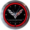 C7 Neon Clock