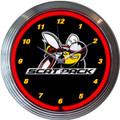 Dodge Scat Pack Neon Clock
