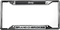 Jeep Grand Cherokee License Frame
