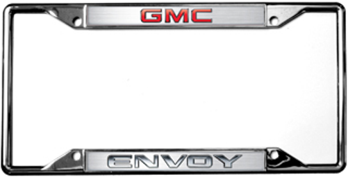 GMC Envoy Chrome License Plate Frame | Auto Gear Direct
