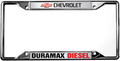 Chevy Duramax Diesel License Frame