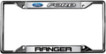 Ford Ranger License Frame