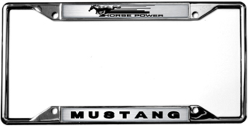 Ford Mustang Horse Power License Plate Frame | Auto Gear Direct