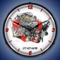 L71 427 V8 Engine Clock