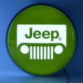 Jeep Grille Backlit Sign