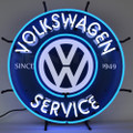 Volkswagen VW Service Neon Sign