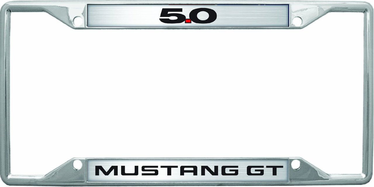 Ford Mustang GT 5.0 License Plate Frame | Auto Gear Direct