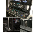 Sierra/Silverado Interior Knob Kit - Brownstone inside