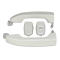 Silverado/Sierra White Diamond Door Handles front