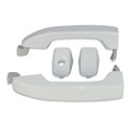Silverado/Sierra Summit White Door Handles front