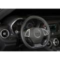 Camaro Billet Interior Knob Kit - Silver Ice inside