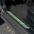 Dodge Challenger Door Sills - Sublime Pearl  on car