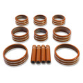Sierra/Silverado Interior Knob Kit - Daytona Sunrise Orange