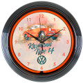 VW Karmann Ghia Neon Clock