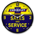 Chevrolet Sales & Service Clock