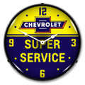 Chevrolet Super Service Clock