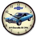 1969 396 Chevelle Clock