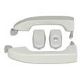 Silverado/Sierra Iridescent Pearl/White Frost Door Handles front