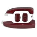 Silverado/Sierra Butte Red/Deep Garnet Door Handles front