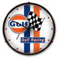 Gulf Racing Clock