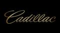 Cadillac Script Black Acrylic Plate