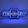 Vintage Chevy Bowtie Neon Sign