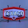 Small Texaco Hexagon Neon Sign