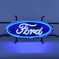 Small Ford Oval Neon Sign