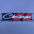 Small Dodge Challenger Neon Sign