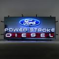 Ford Power Stroke Diesel Neon Sign