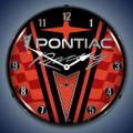 Pontiac Racing Clock