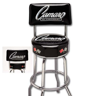 Camaro By Chevrolet Counter Stool With Backrest Auto