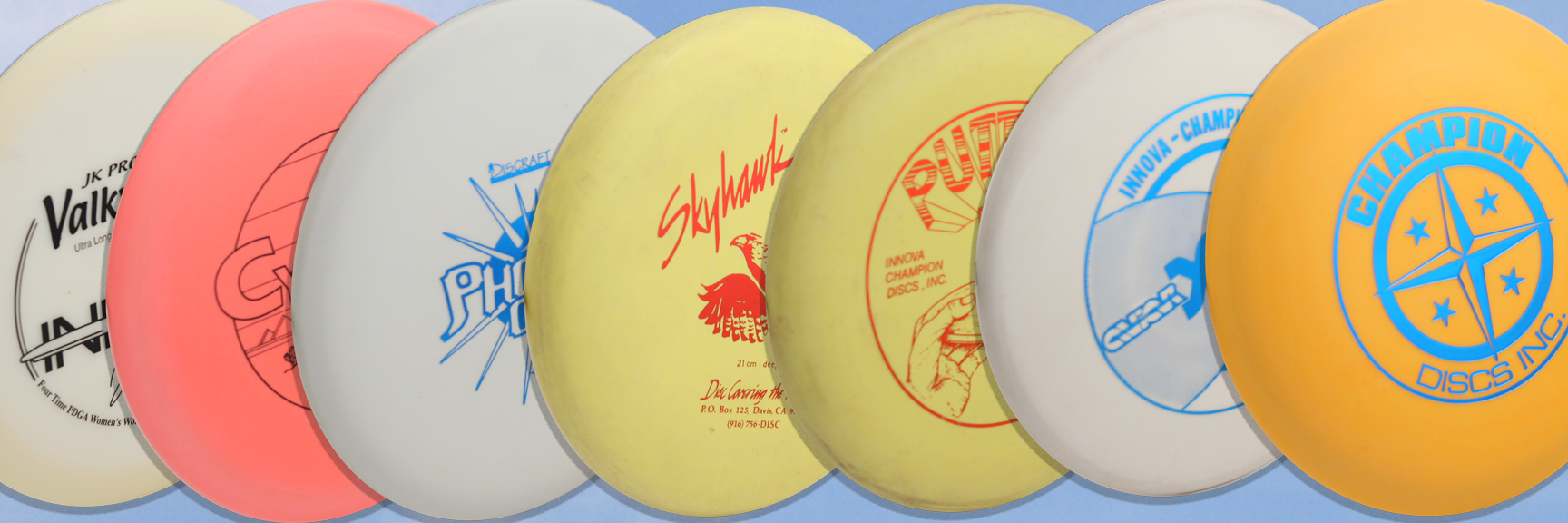 COLLECTOR DISCS & FRISBEES