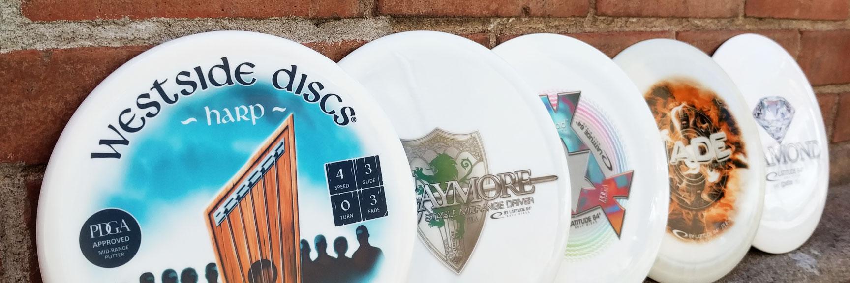 DecoDye disc golf discs
