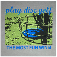 TWL T-SHIRT - PLAY DISC GOLF DESIGN