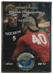 ULTIVILLAGE.COM UPA CLUB CHAMPIONSHIPS 2007 ULTIMATE DVD - FULL SET