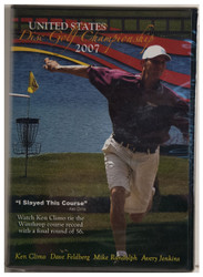 UNITED STATES DISC GOLF CHAMPIONSHIP 2007 DVD