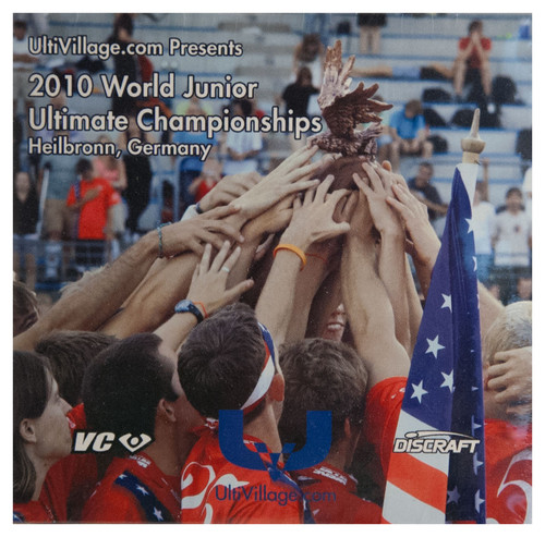 ULTIVILLAGE.COM WFDF JUNIOR ULTIMATE CHAMPIONSHIPS 2010 DVD